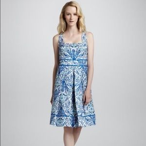 Tory Burch Ramona Floral-Print Dress Size 12